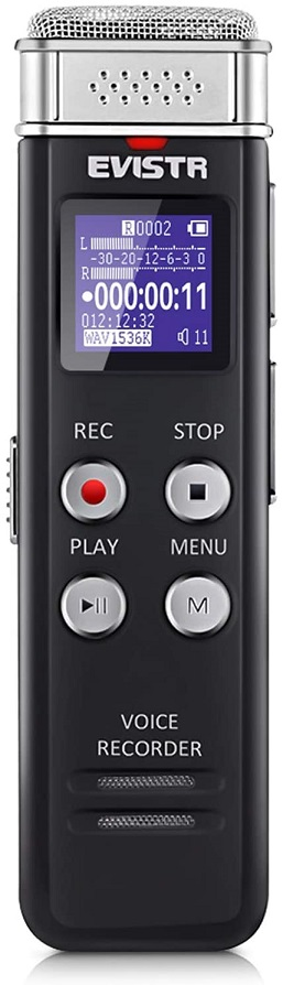 evistr interview recorder