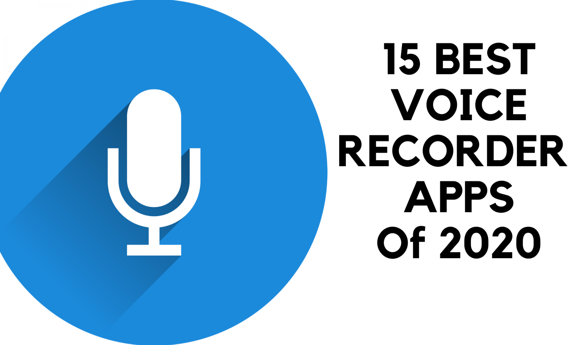 15 best voice recorder apps