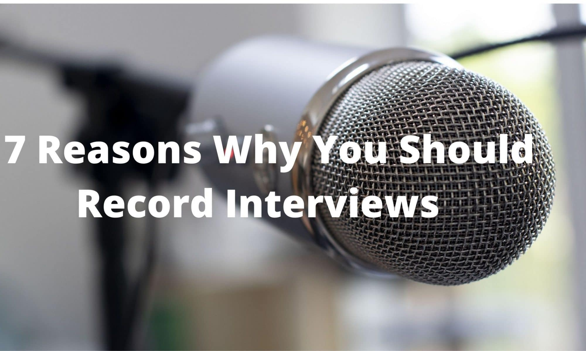 interview dictation