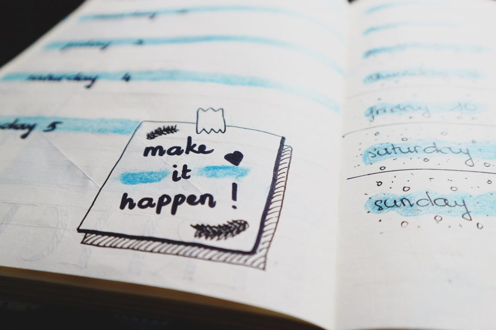 when creating a writing plan